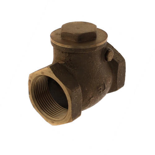 "1-1/4"" Threaded Swing Check Valve, Lead Free Product Image"