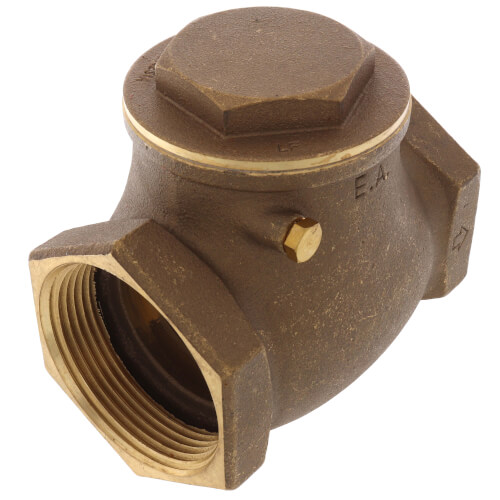 """2-1/2"""" Threaded Swing Check Valve, Lead Free Product Image"""