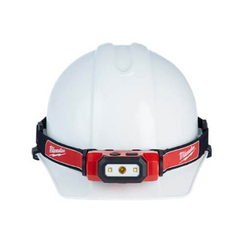 Hard Hat Head Lamp, USB Rechargeable Product Image