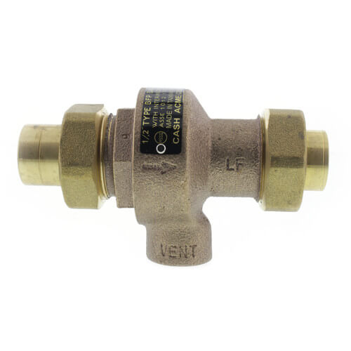 """1/2"""" IPS BFP Backflow Preventer (Lead Free) Product Image"""