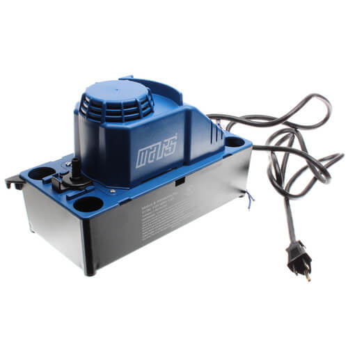 125 GPH Condensate Removal Pump w/ Safety Switch, 6' Cord (115V) Product Image
