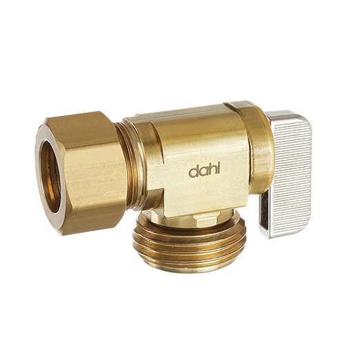 "5/8"" OD Compression Angle Hose & Boiler Drain, Lead Free (Brass) Product Image"