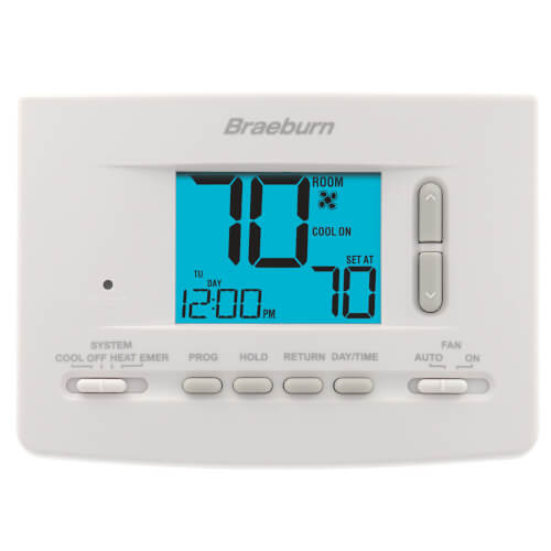 5-2 Day Programmable Thermostat (2 Heat/2 Cool) - Economy Series Product Image