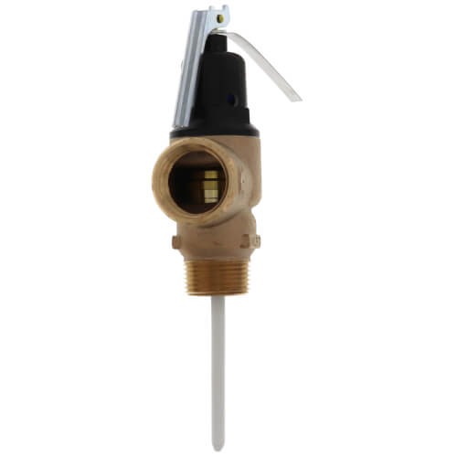 "1"" FVMX-3LS Commercial T&P Relief Valve Long Shank, Lead Free (Male Inlet) Product Image"
