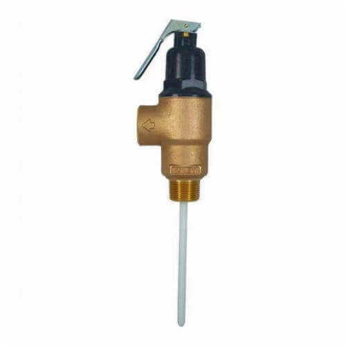 """3/4"""" FVMX-5C Commercial T&P Relief Valve, Lead Free (Male Inlet) Product Image"""