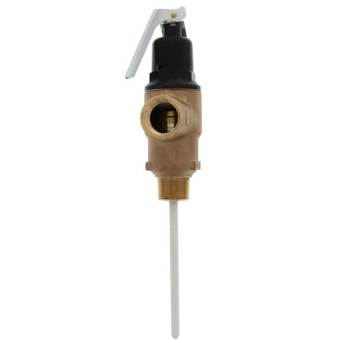"3/4"" FVMX-5C Commercial T&P Relief Valve, Lead Free (Male Inlet) Product Image"