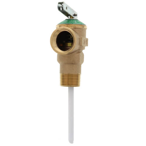 """3/4"""" NCLX-5S Domestic T&P Relief Valve, Extended Length Body (Lead Free) Product Image"""