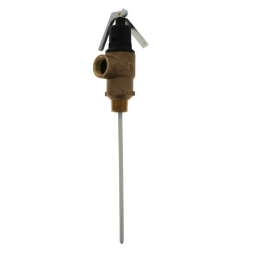 """3/4"""" FVMX-8C Commercial T&P Relief Valve, Lead Free (Male Inlet) Product Image"""