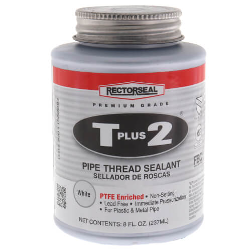 RectorSeal T Plus 2 Pipe Thread Sealant (8 oz.) Product Image