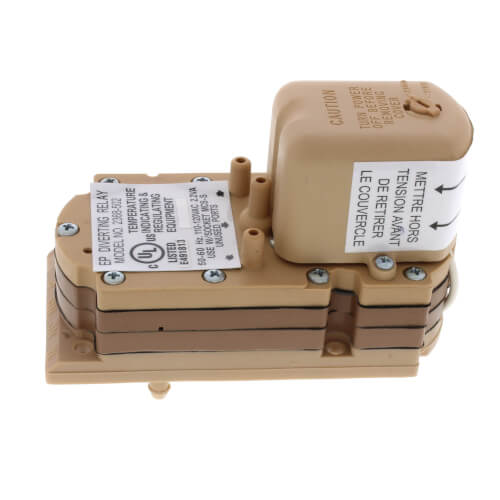110 VAC Pneumatic Electric Relay w/ DPDT Switch Product Image