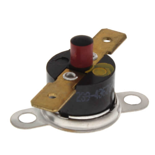 270° Yellow Resettable Thermal Switch Product Image