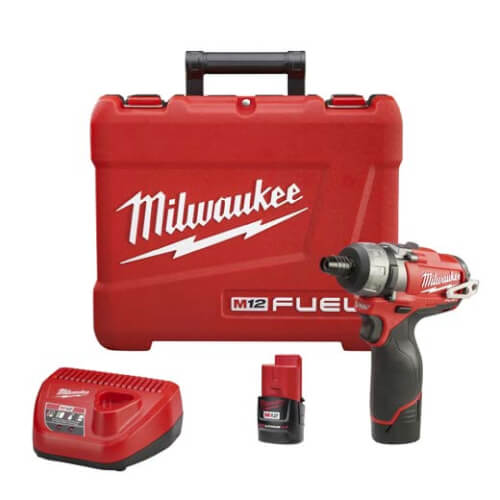 """M12 Fuel 1/4"""" Hex 2-Speed Screwdriver Kit Product Image"""