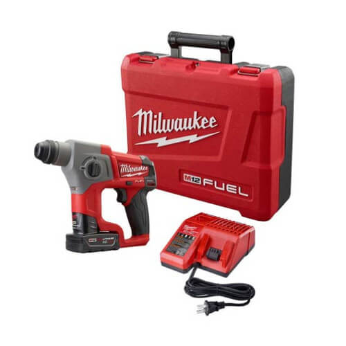 """M12 Fuel 5/8"""" SDS Plus Rotary Hammer Kit Product Image"""