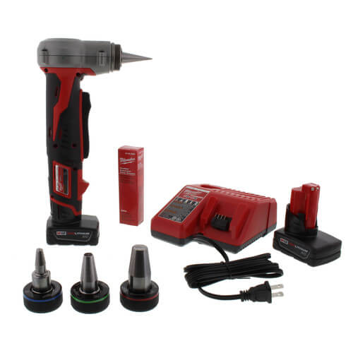 2432-22xc - milwaukee 2432-22xc - m12 propex expansion tool kit with ...