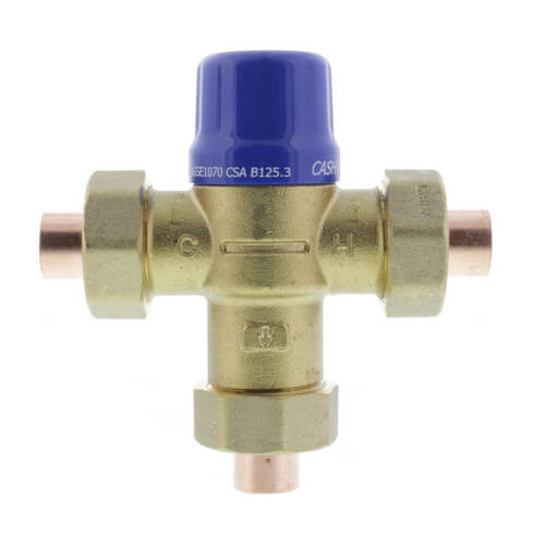 """HG110-D, 1/2"""" Sweat Thermostatic Mixing Valve (Lead Free) Product Image"""