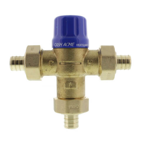 "HG110-D, 3/4"" PEX Thermostatic Mixing Valve (Lead Free) Product Image"