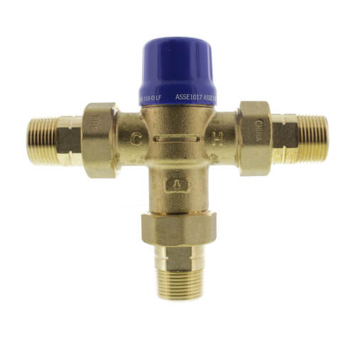 """HG110-D, 3/4"""" MNPT Thermostatic Mixing Valve (Lead Free) Product Image"""