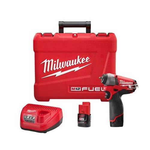"""M12 Fuel 1/4"""" Impact Wrench Kit Product Image"""