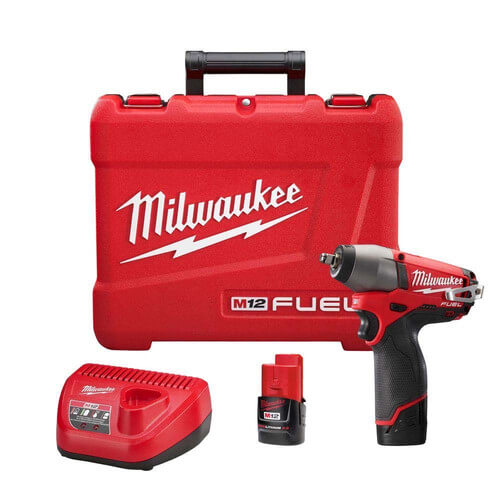 """M12 Fuel 3/8"""" Impact Wrench Kit Product Image"""