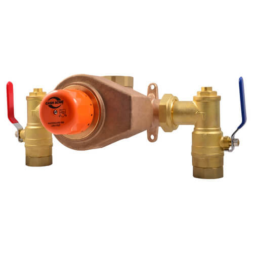 "MasterGuard 860, 1-1/2"" x 2"" Thermostatic Mixing Valve, High Capacity (Lead Free) Product Image"