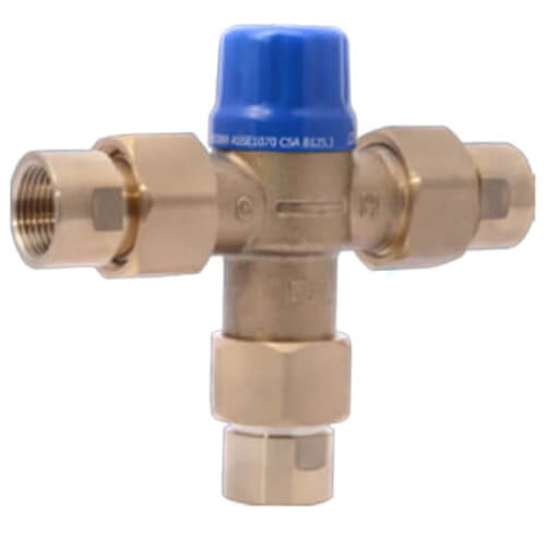 "HG 110-D , 3/4"" FNPT Thermostatic Mixing Valve (Lead Free) Product Image"