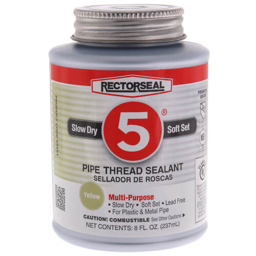 RectorSeal No. 5 Pipe Thread Sealant (8 oz.) Product Image