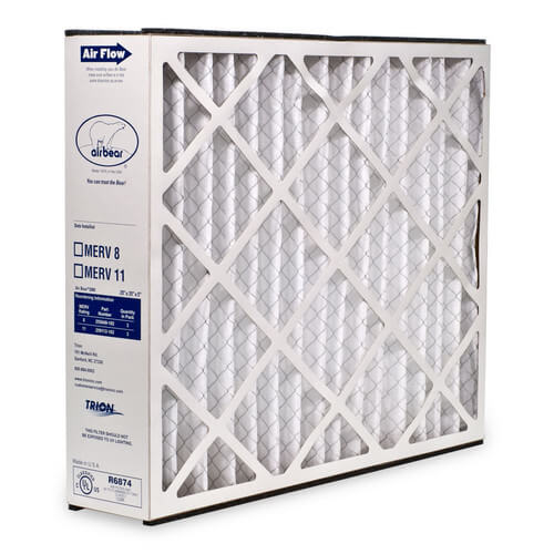 """20"""" x 25"""" x 5"""" Air Bear Replacement Filter Product Image"""