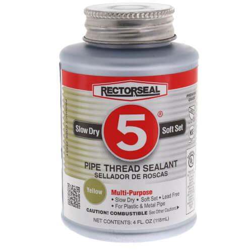 RectorSeal No. 5 Pipe Thread Sealant (4 oz.) Product Image