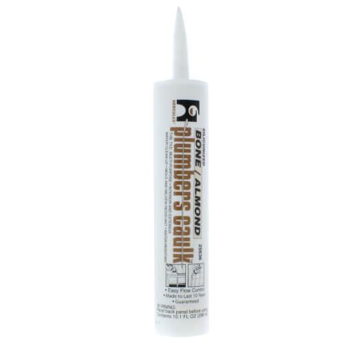 10.3 Fluid Oz. Cartridge Plumbers Caulk - Almond/Bone Product Image