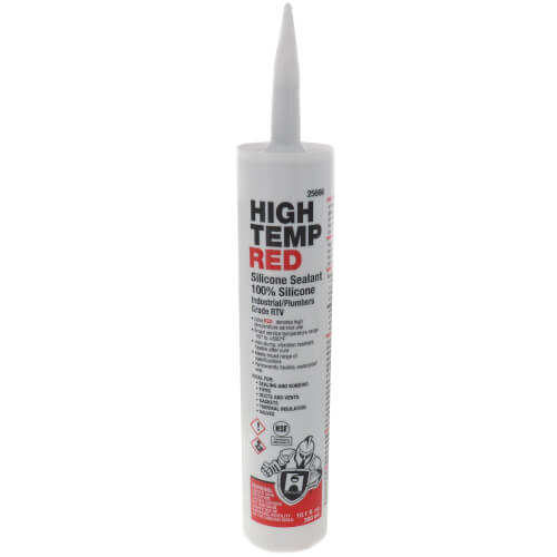10.1 oz. High Temp Red Silicone Sealant Product Image
