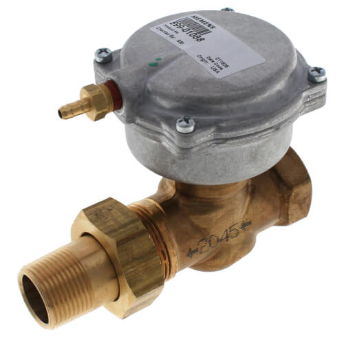 "3/4"" F x UM Normally Open Valve Assembly, 3-8 psi, 6.3 Cv Product Image"