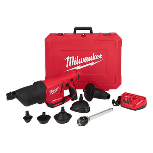 """M12™ AIRSNAKE™ Drain Cleaning Air Gun Kit w/Extension (10"""") Product Image"""