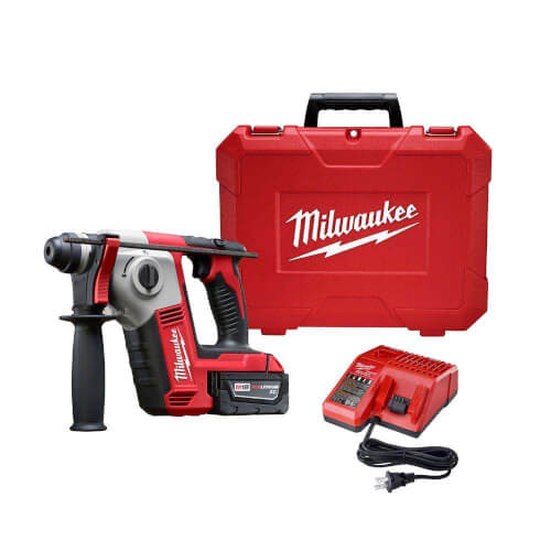 "M18 Cordless 5/8"" SDS-Plus Rotary Hammer Kit w/ 2 Batteries Product Image"