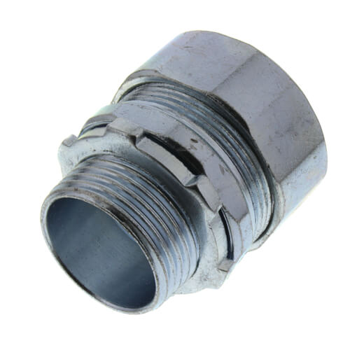 "3/4"" Steel Rigid Compression Connector Product Image"