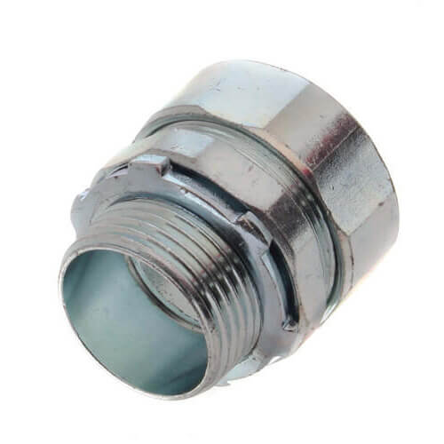 """1"""" Steel Rigid Compression Connector Product Image"""