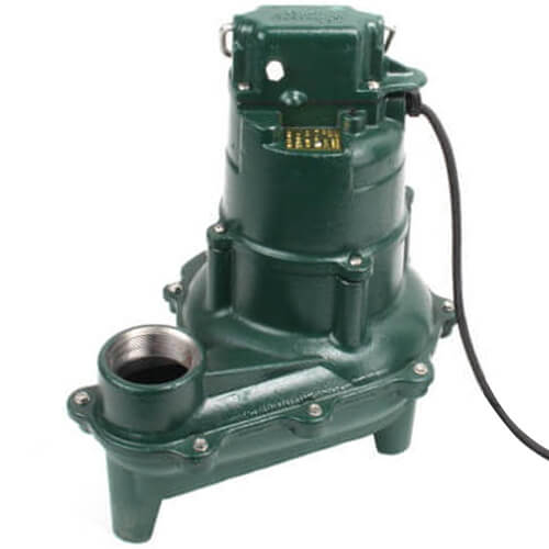 Model N264 Waste-Mate Non-Automatic Cast Iron Sewage Pump - 115 V, 0.4 HP Product Image