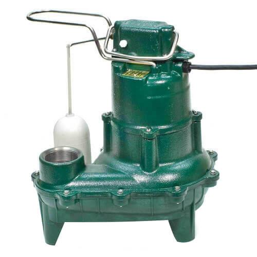 Model E264 Waste-Mate Non-Automatic Cast Iron Sewage Pump - 230 V, 0.4 HP Product Image