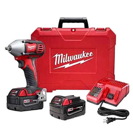 """M18 3/8"""" Impact Wrench with Friction Ring Kit Product Image"""