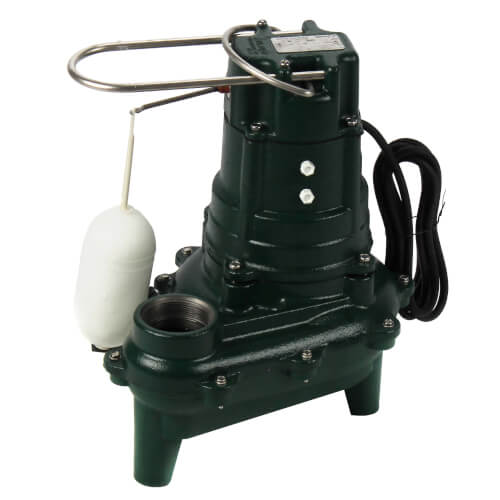 Model M266 Waste-Mate Automatic Cast Iron Sewage Pump - 115 V, 1/2 HP Product Image