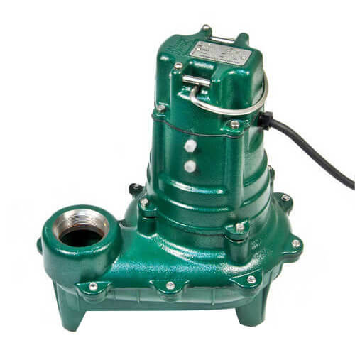 Model E266 Waste-Mate Non-Automatic Cast Iron Sewage Pump - 230 V, 1/2 HP Product Image
