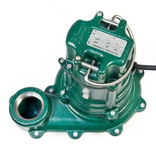 Model BE266 Waste-Mate Cast Iron Sewage Pump w/ Variable Level Float Switch - 230 V Product Image