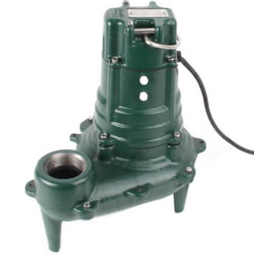 Model N267 Waste-Mate Non-Automatic Cast Iron Sewage Pump - 115 V, 1/2 HP Product Image
