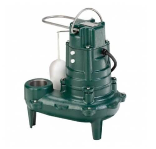 Model M267 Waste-Mate Automatic Cast Iron Sewage Pump - 115 V, 1/2 HP Product Image