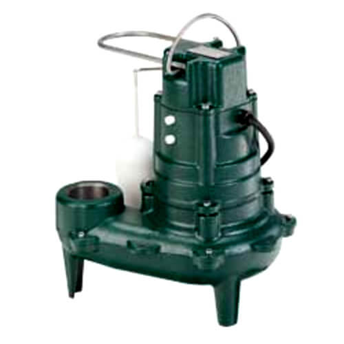 Model I267 Waste-Mate Series Sewage Pump with 15' Cord (208-230V, 1/2 HP) Product Image