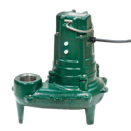 Model BE267 Waste-Mate Cast Iron Sewage Pump w/ Variable Level Float Switch - 230 V Product Image