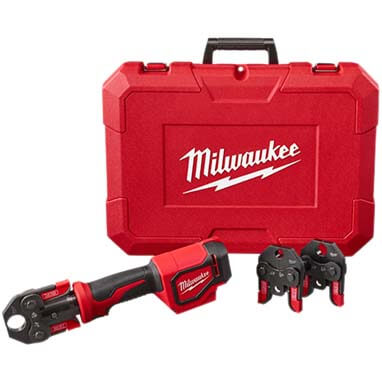 "M18 Short Throw Crimp Tool Kit w/ 1/2"", 3/4"" & 1"" PEX Crimp Jaws Product Image"