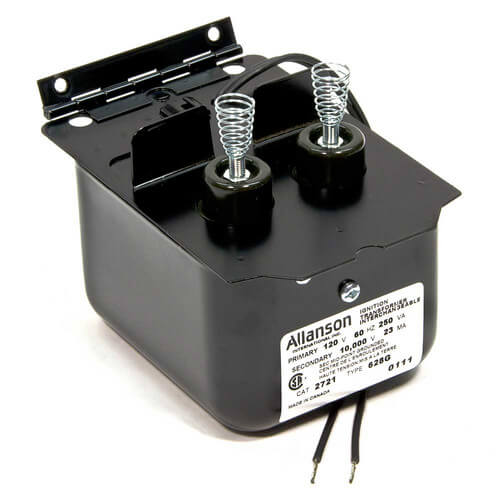 Ignition Transformer Wiring Diagram : G allanson ignition transformer for