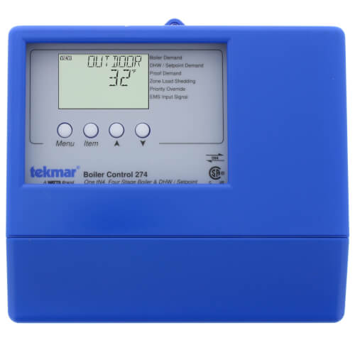 Boiler Control - One tN4, Four Stage Boiler & DHW / Setpoint Product Image