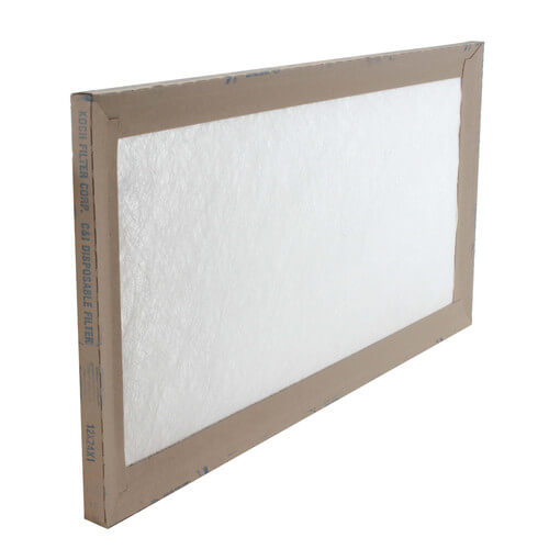 "12"" x 24"" x 1"" Fiberglass Throw Away Replacement Filter Product Image"