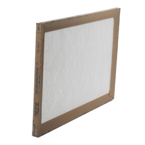 """14"""" x 20"""" x 1"""" Fiberglass Throw Away Replacement Filter Product Image"""